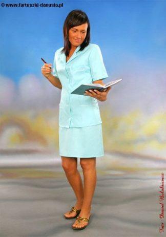 Fartuch pielęgniarski kolorowy