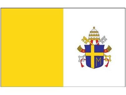 Flaga Papieska X2